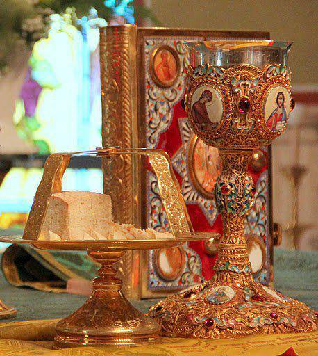 Church Holy Eucharist Ancient Faith