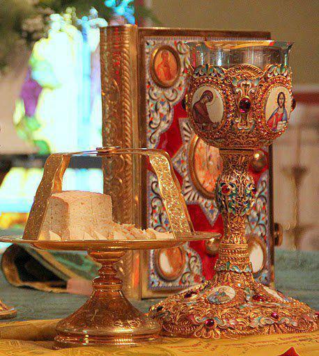 Church Holy Eucharist Ancient Faith